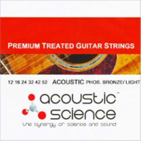 acoustic sciencePhosphor Bronze Extra Light : LACSAGPB1150