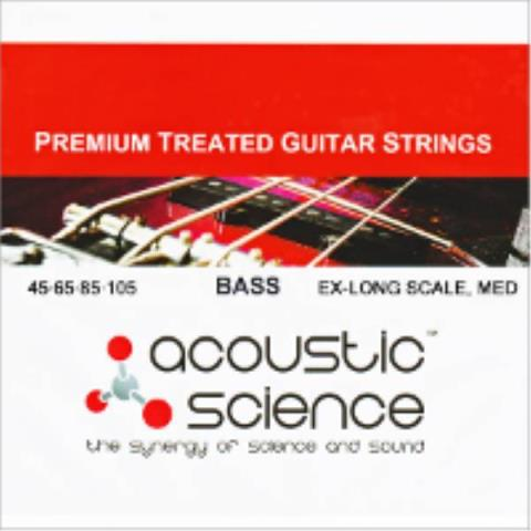acoustic science-5弦ベース用ロングスケール弦Nickel 5弦 Custom/Long scale : LACSEB5C45125