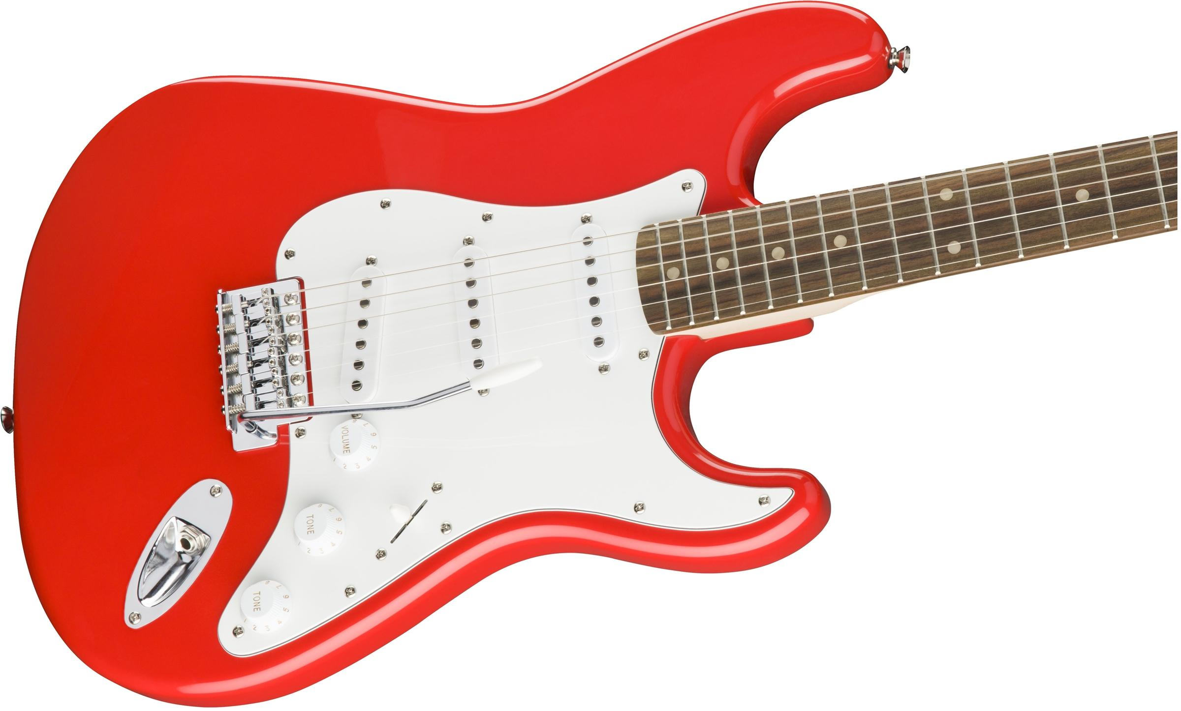Affinity Series Stratocaster Race Red追加画像