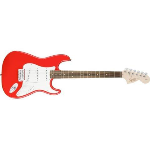 SquierAffinity Series Stratocaster Race Red