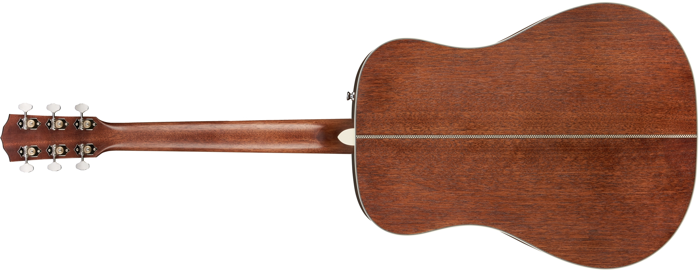 PM-1 Standard Dreadnought All-Mahogany NE背面画像