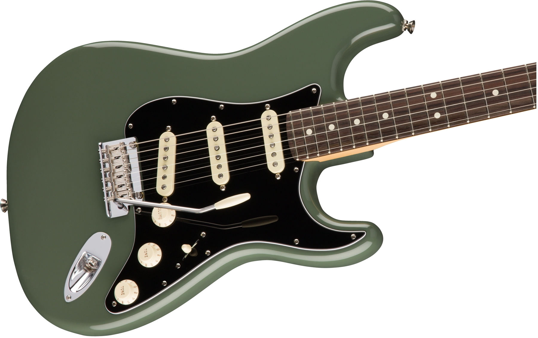 American Professional Stratocaster® Antique Olive追加画像