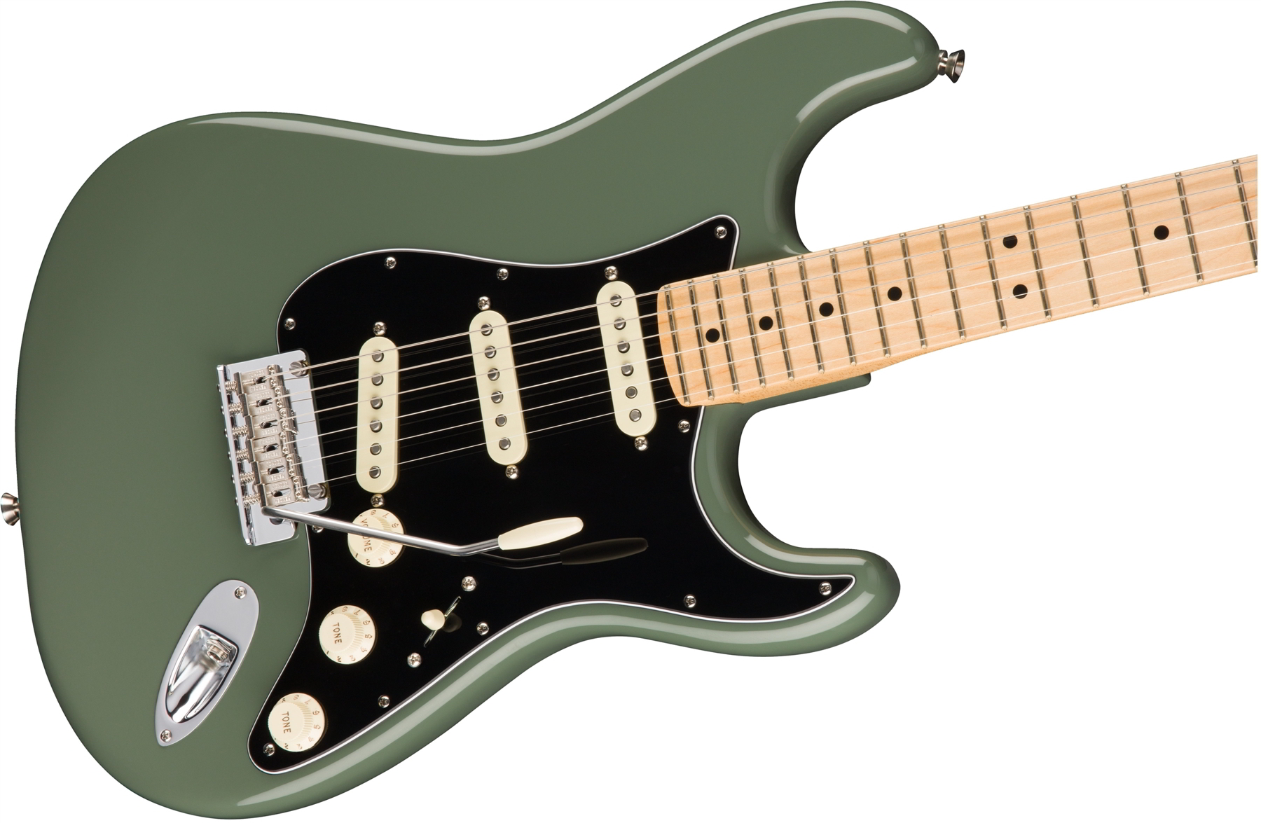 American Professional Stratocaster® Antique Olive(Maple Fingerboard)追加画像