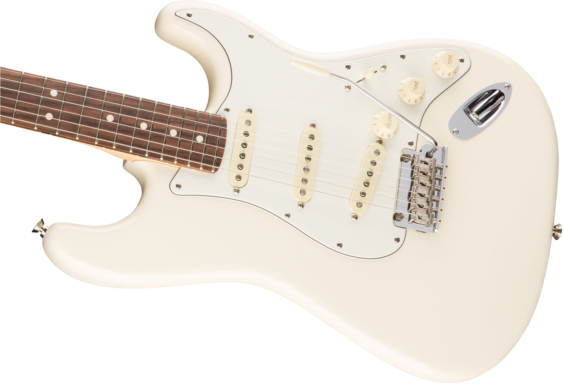 American Professional Stratocaster® Olympic White追加画像