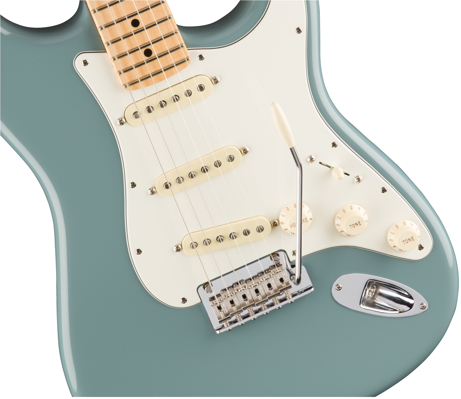 American Professional Stratocaster® Sonic Gray(Maple Fingerboard)追加画像