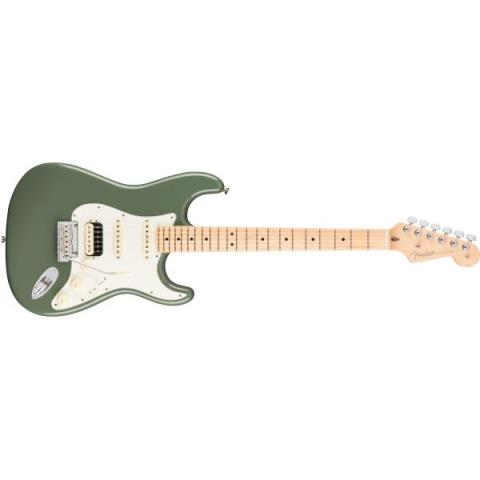 Fender-ストラトキャスターAmerican Professional Stratocaster® HSS Shawbucker Antique Olive(Maple Fingerboard)