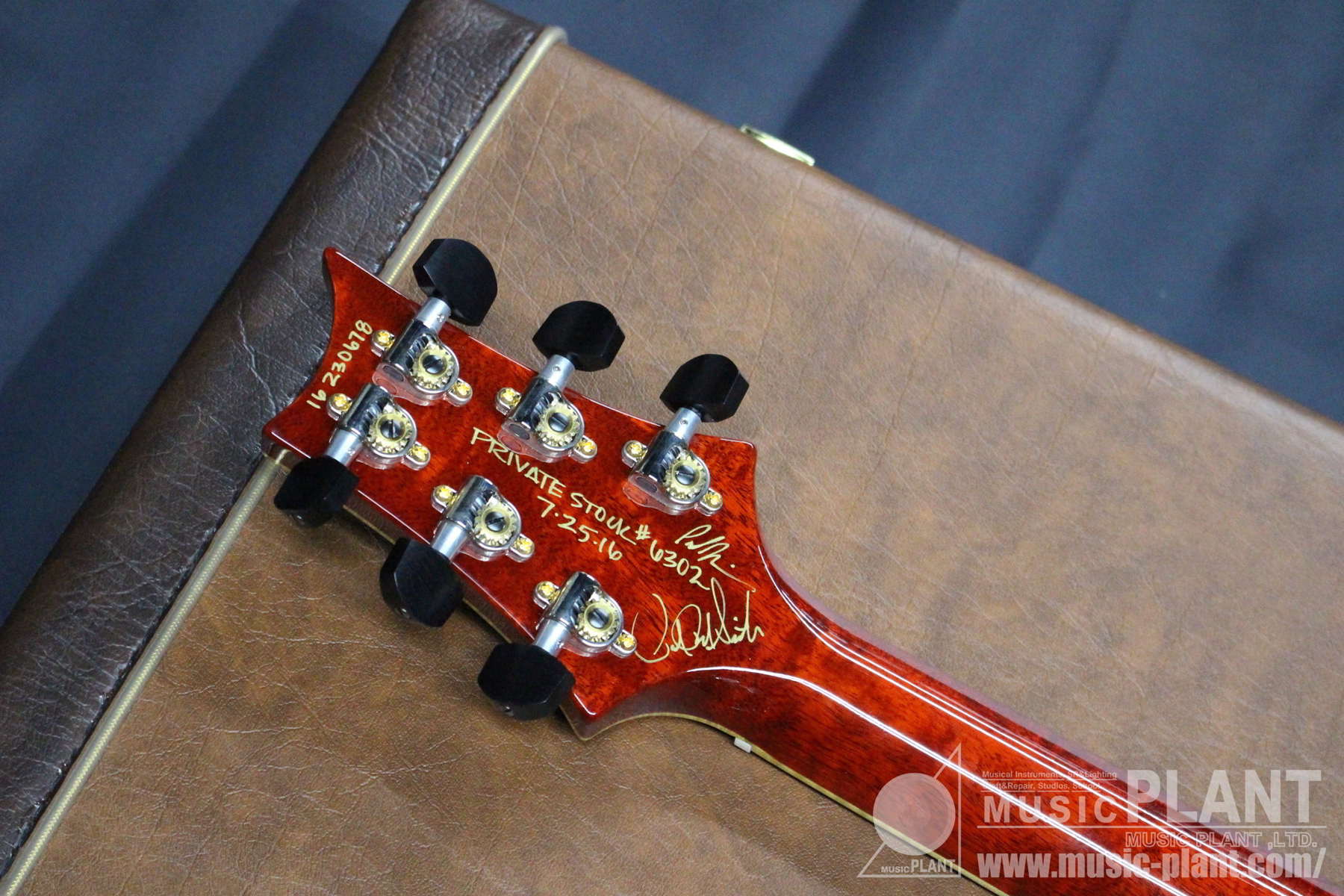 Private Stock #6302 McCarty594 Vintage McCarty Smoked Burst追加画像