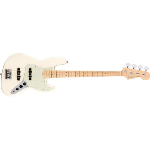 FenderAmerican Professional Jazz Bass Olympic White(Maple Fingerboard)