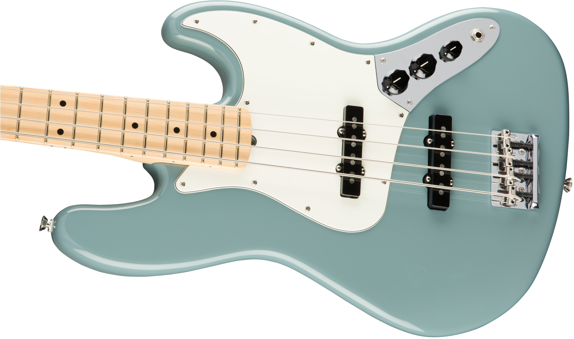 American Professional Jazz Bass Sonic Gray(Maple Fingerboard)追加画像