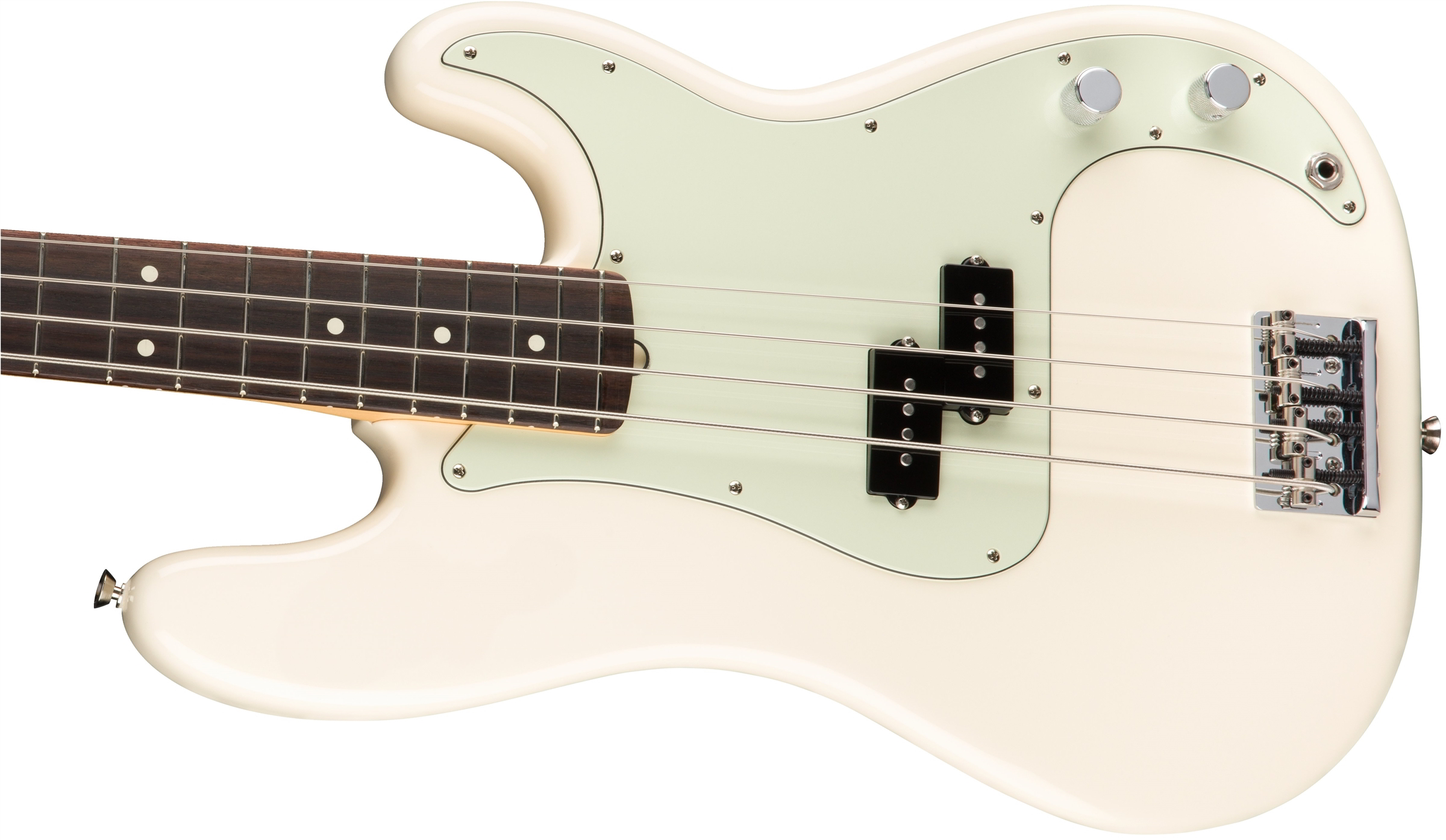 American Professional Precision Bass Olympic White追加画像