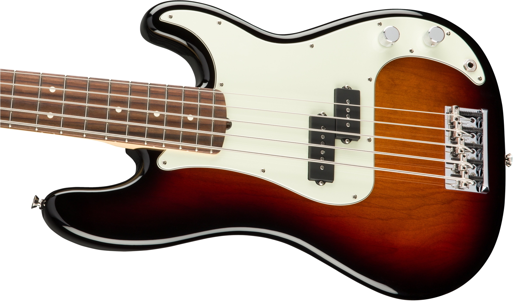 American Professional Precision Bass V 3-Color Sunburst追加画像
