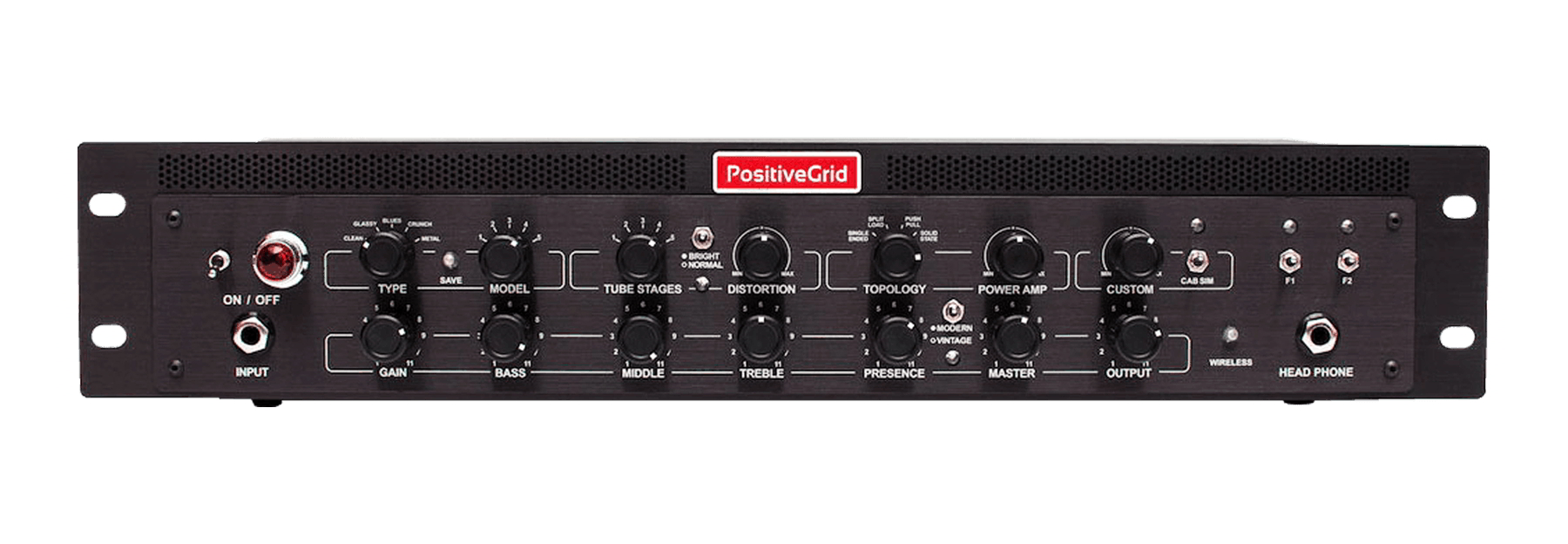 BIAS Rack Processor AMP MATCH RACKMOUNT PRE AMPLIFIERパネル画像