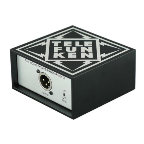 TELEFUNKEN Elektroakustik-パッシブ DITD-1 1ch passive direct box