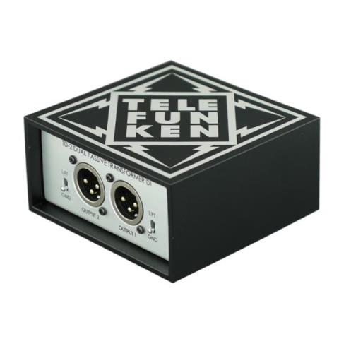 TELEFUNKEN Elektroakustik-パッシブ DITD-2 2ch passive stereo direct box