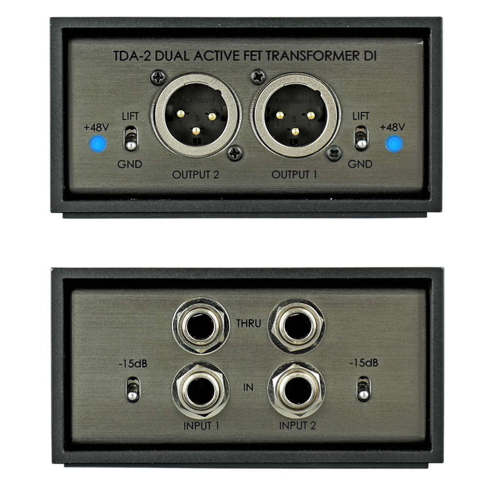 TDA-2 2ch active stereo direct box追加画像