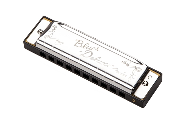 Blues Deluxe Harmonica Key Bb背面画像