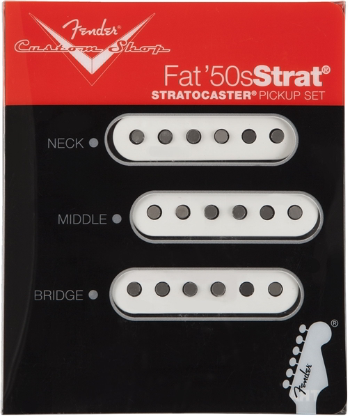 Custom Shop Fat '50s Stratocaster® Pickups追加画像