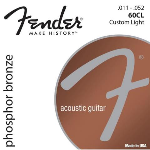 FenderPhosphor Bronze 60CL Custom Light 11-52