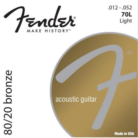Fender80/20 Bronze 70L Light 12-52