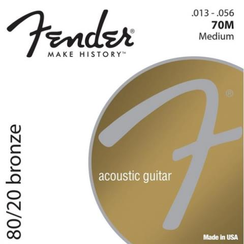 Fender80/20 Bronze 70M Medium 13-56