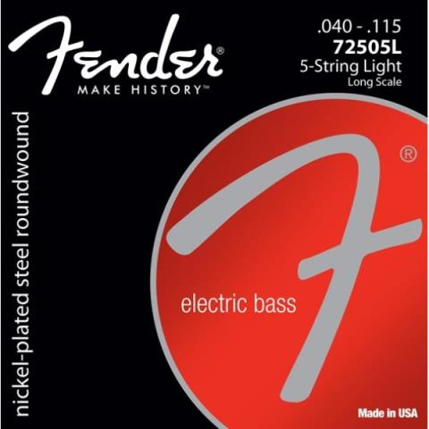 Fender72505L (5-String)Light 40-115