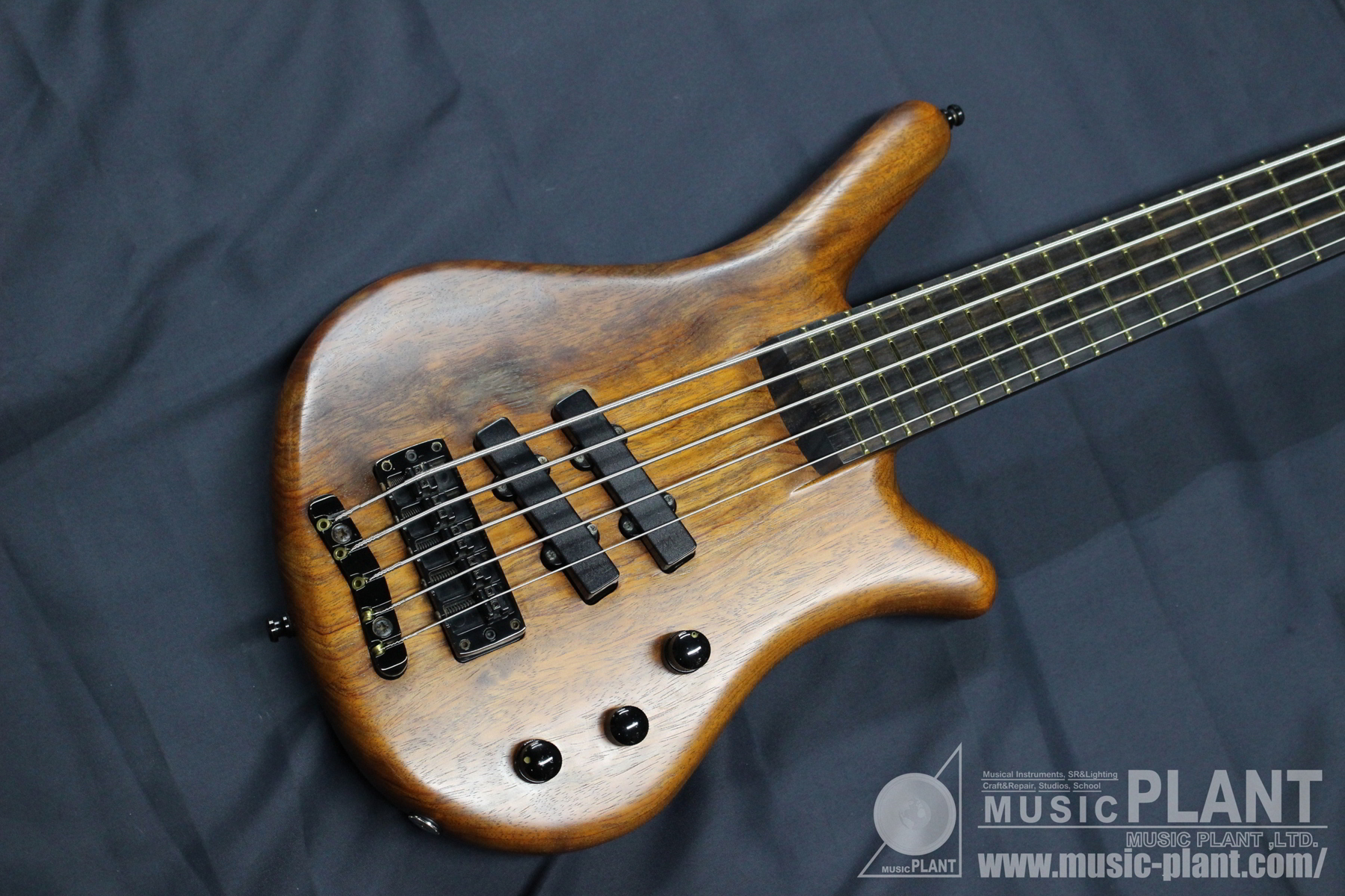 Thumb Bass 5st Through Neck Natural Oil Finish追加画像