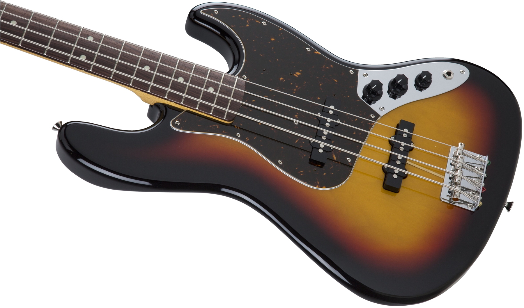 Made in Japan Traditional 60s Jazz Bass 3-Color Sunburst追加画像
