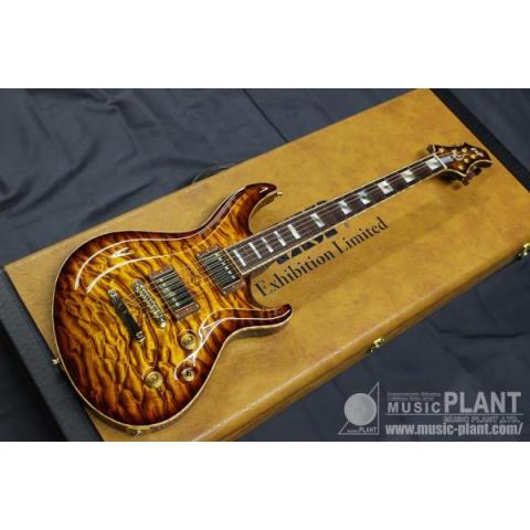 ESP-エレキギターMYSTIQUE-CTM-NT EX16-73 -SEE THRU YELLOW BROWN BURST-