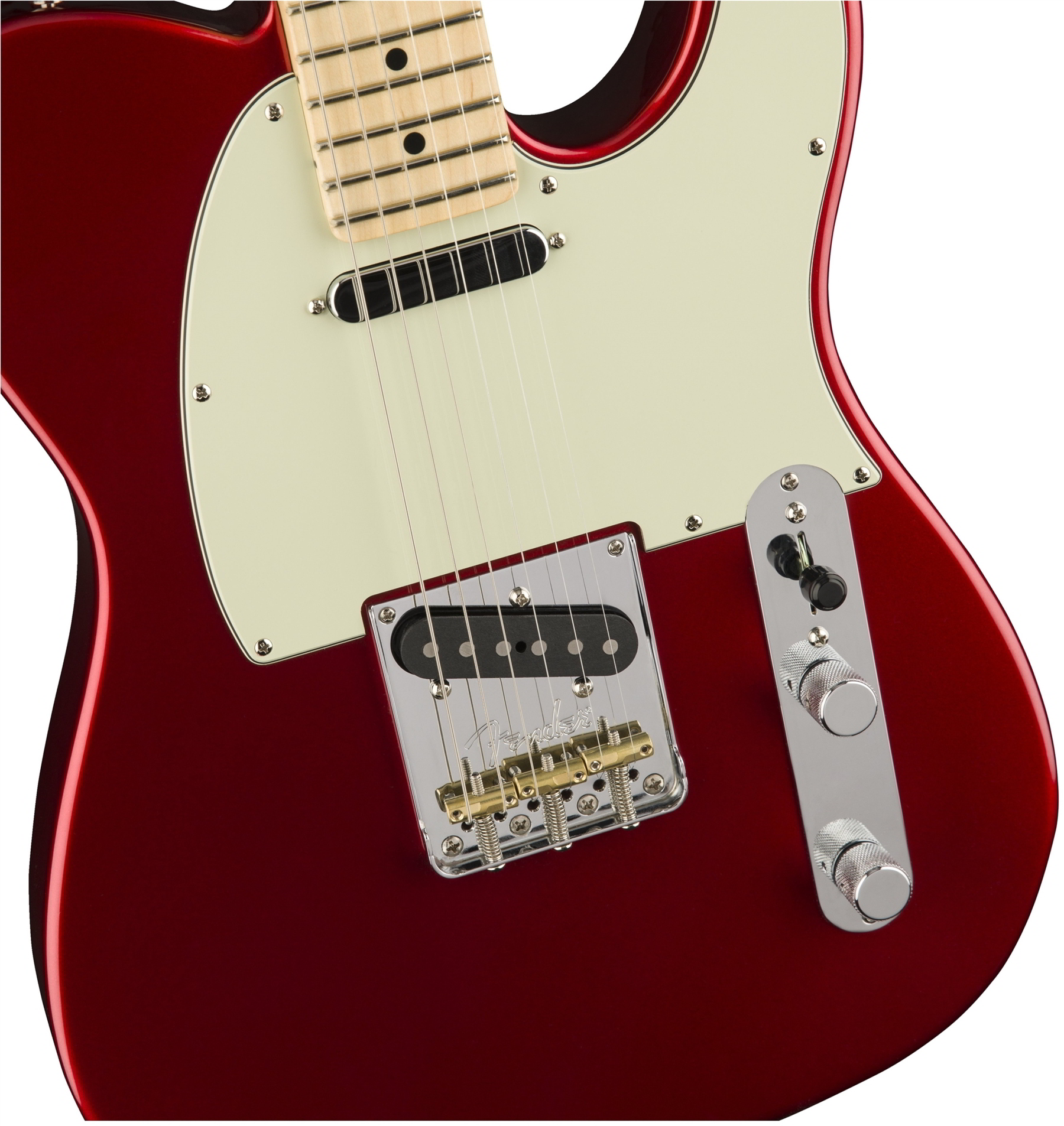 American Professional Telecaster Candy Apple Red追加画像