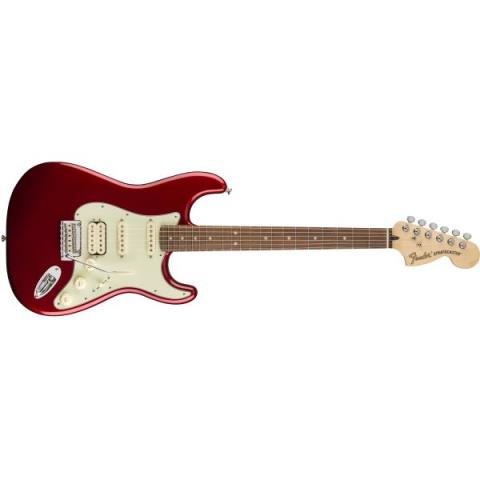 Fender-ストラトキャスターDeluxe Strat® HSS Candy Apple Red (Pau Ferro Fingerboard)