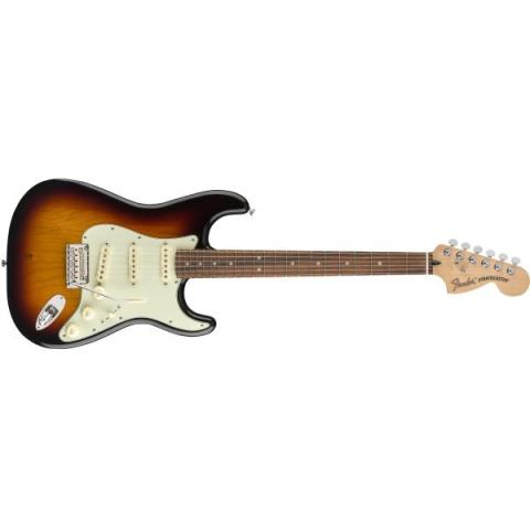 Fender-ストラトキャスターDeluxe Roadhouse™ Strat® 3-Color Sunburst (Pau Ferro Fingerboard)