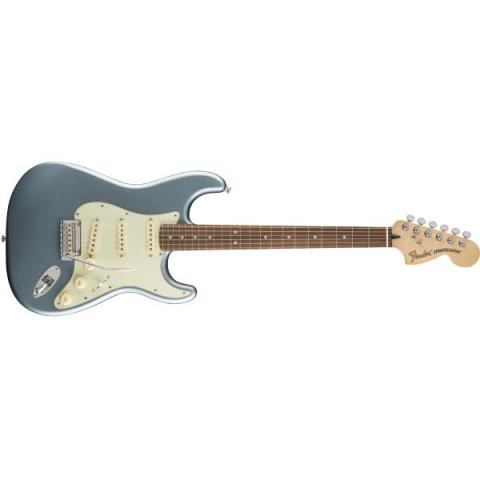 Fender-ストラトキャスターDeluxe Roadhouse™ Strat® Mystic Ice Blue (Pau Ferro Fingerboard)