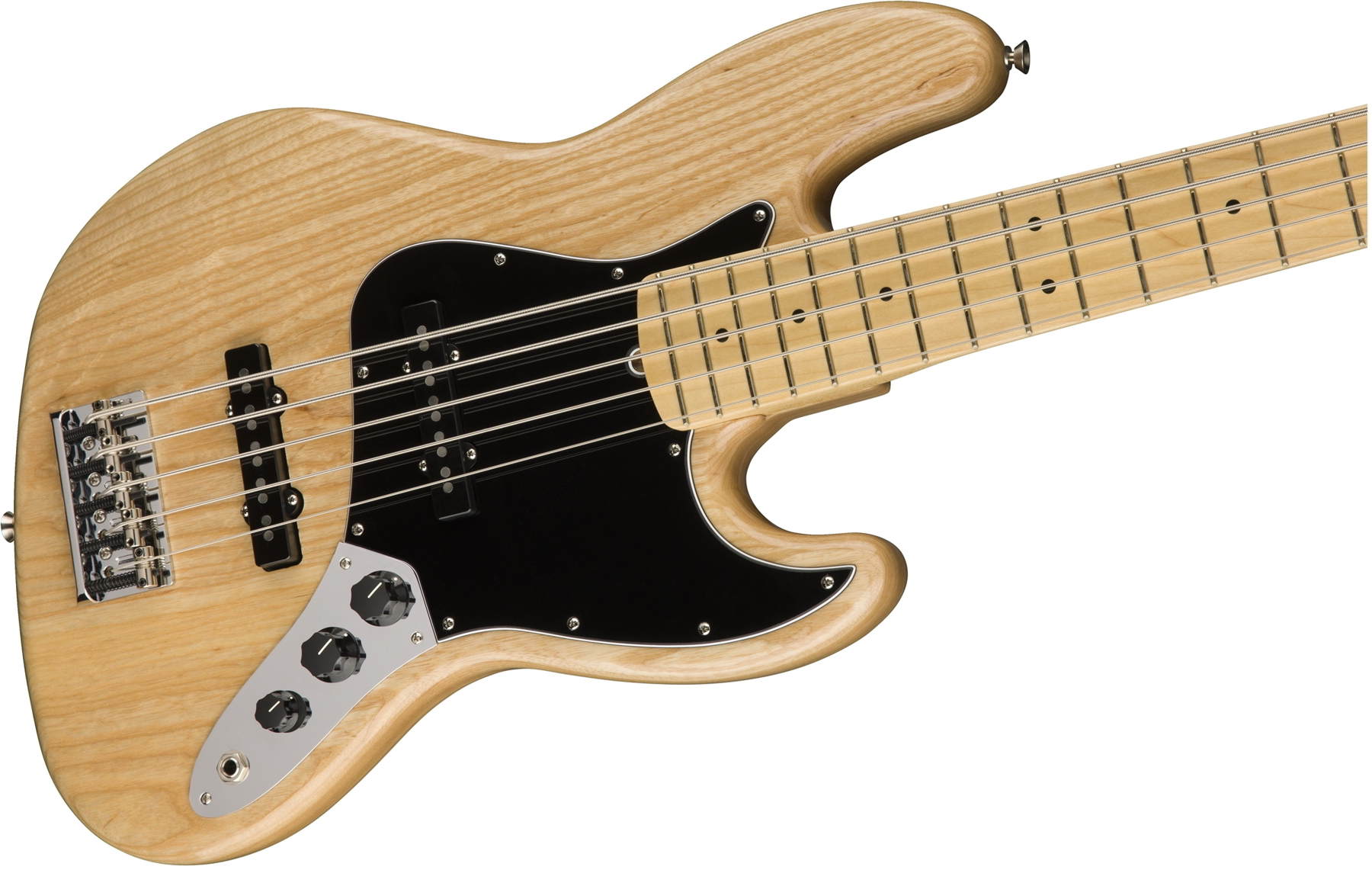 American Professional Jazz Bass V Natural追加画像