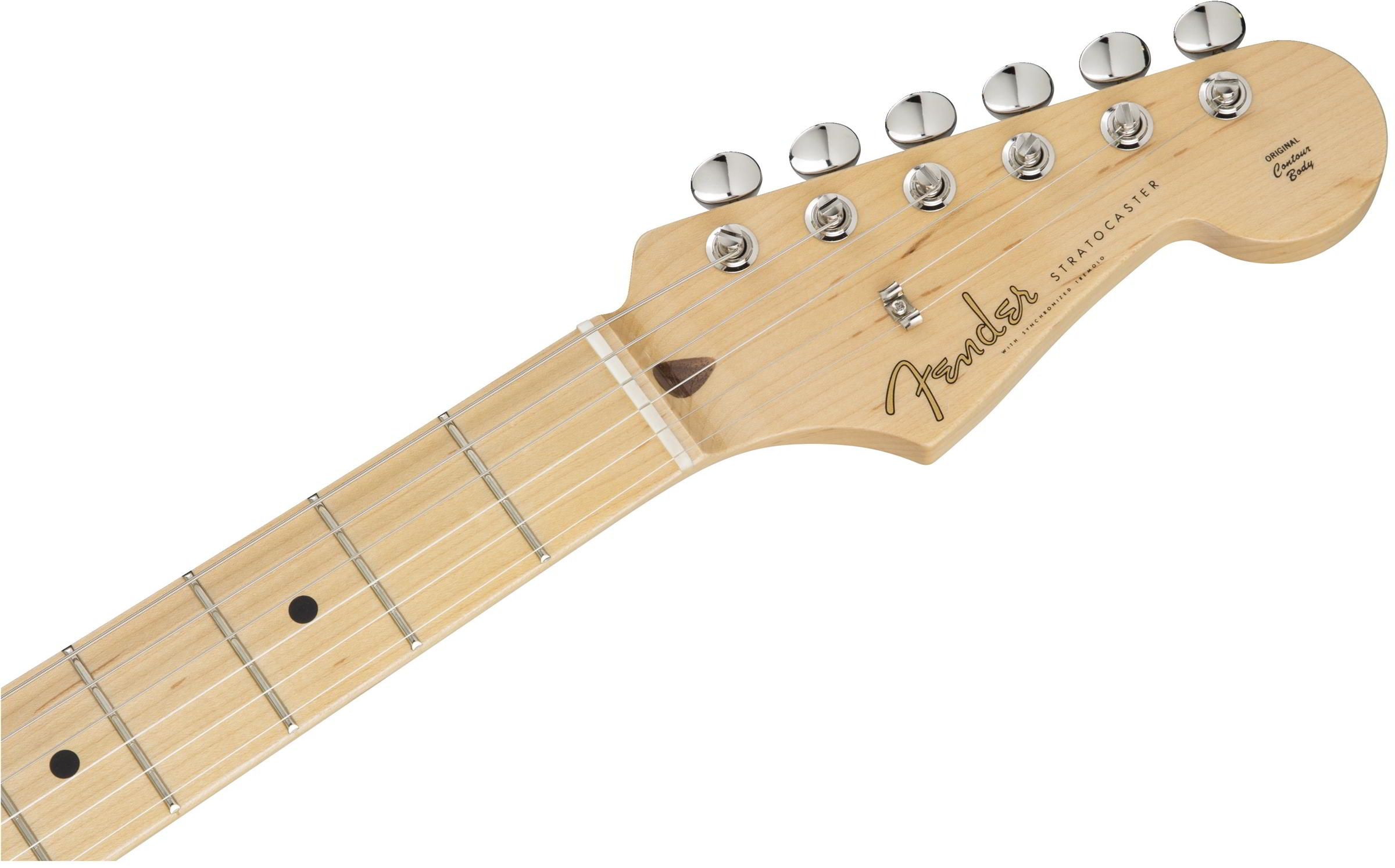 Made in Japan Hybrid 50s Stratocaster® US Blondeヘッド画像