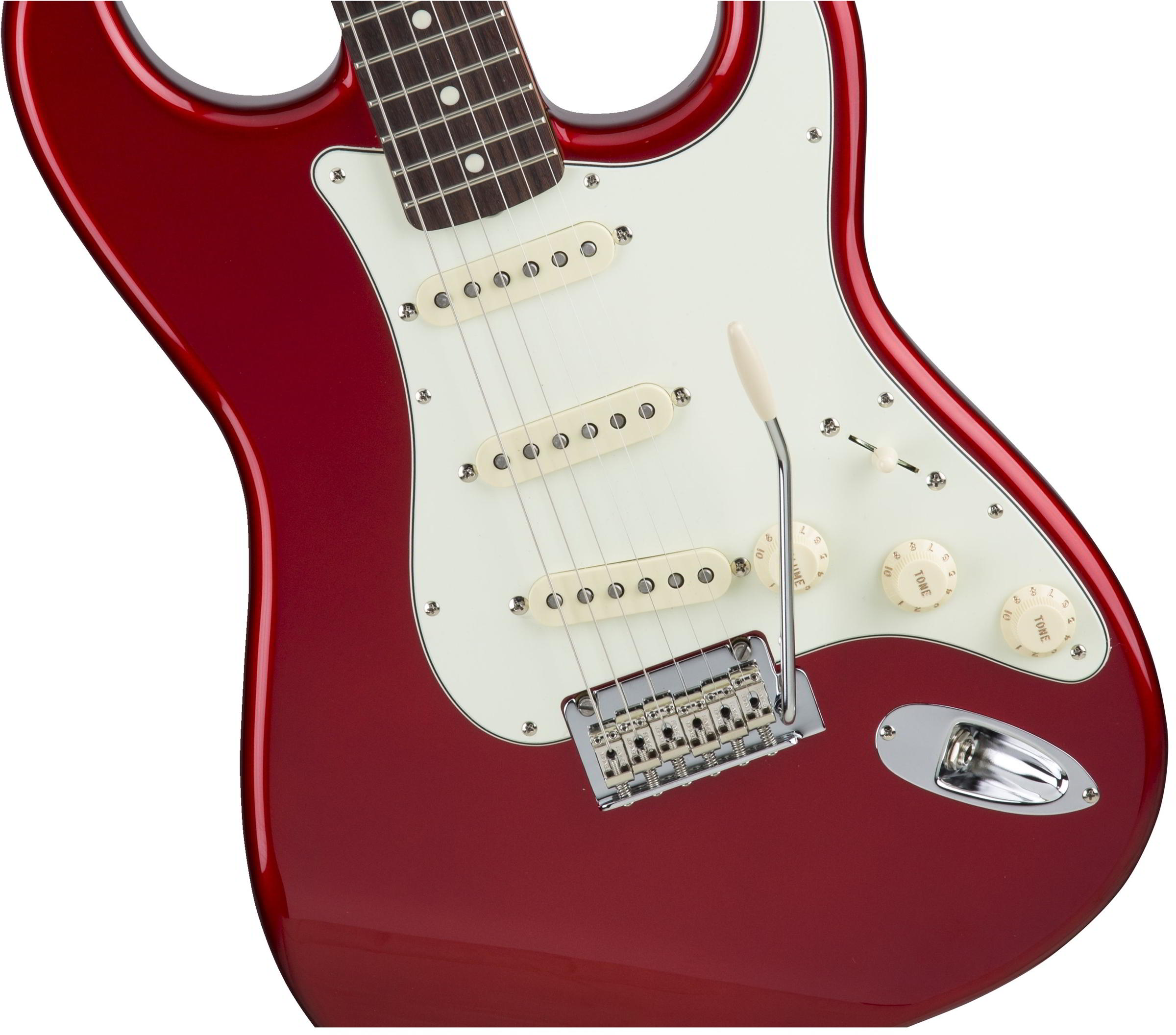 Made in Japan Hybrid 60s Stratocaster Candy Apple Red追加画像