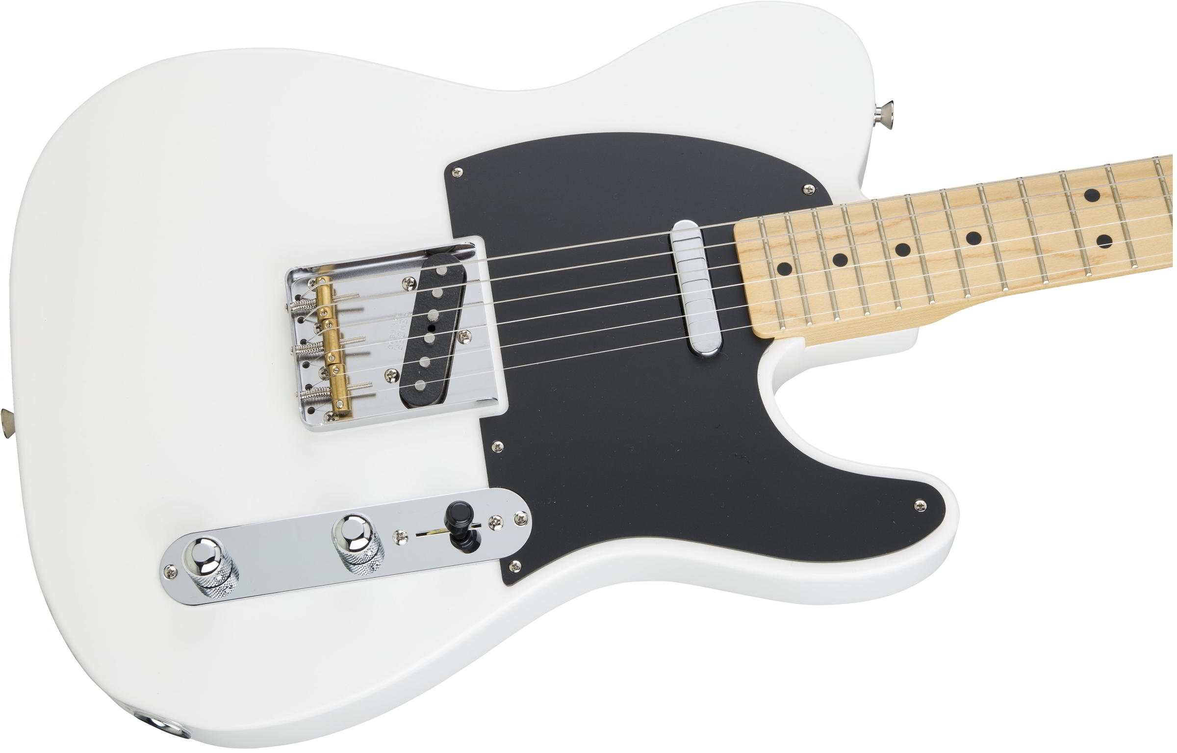 Made in Japan Hybrid 50s Telecaster Arctic White追加画像