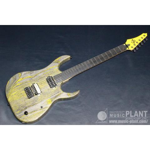 Strictly 7 Guitars-エレキギターCobra Standard6 Yellow Grain Fill