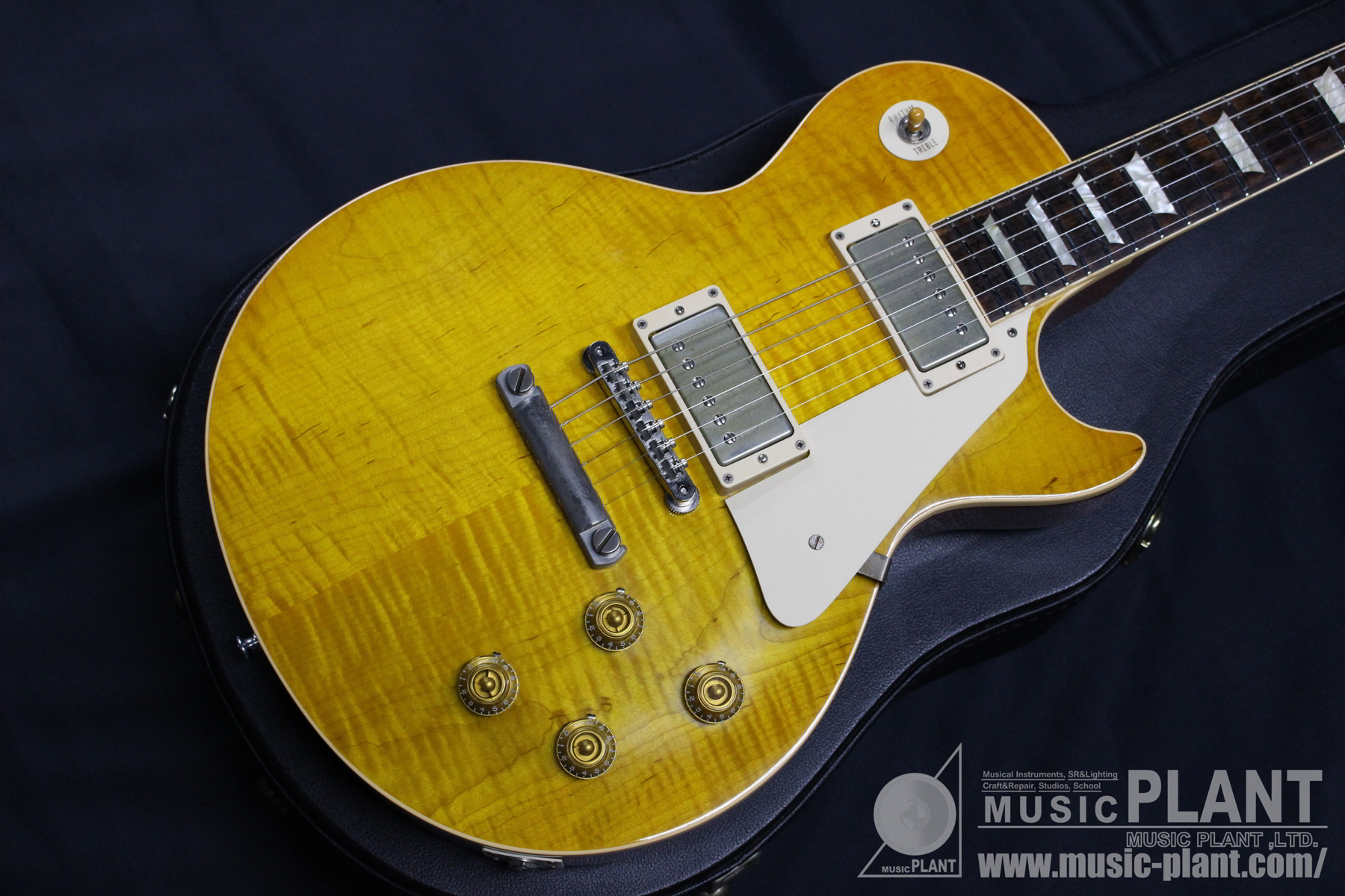 Historic Collection 1960 Les Paul Reissue VOS AA Figured Butter Scotch Kurosawa 55th Anniversary追加画像