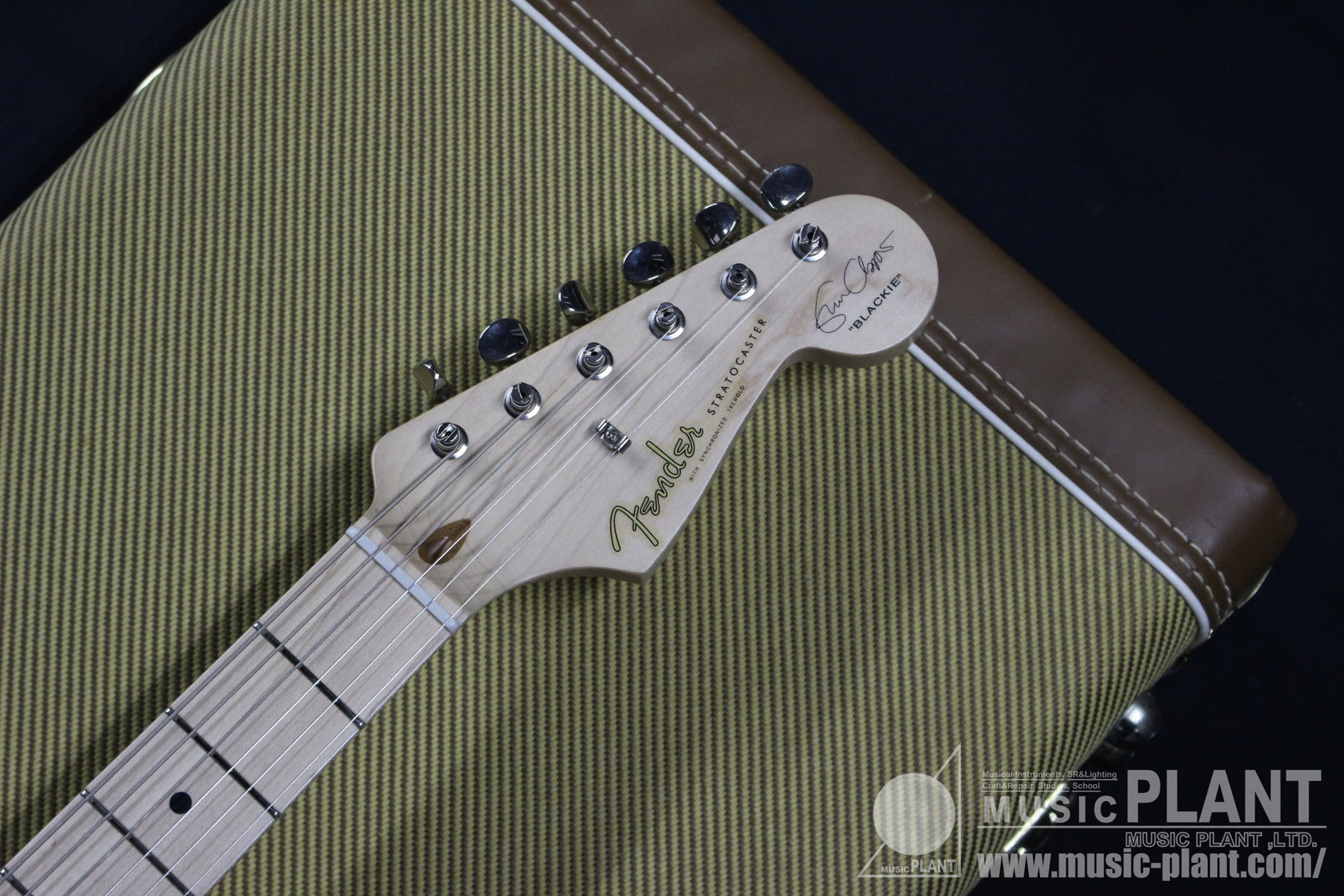 2011 Eric Clapton Stratocaster BLACKIEヘッド画像