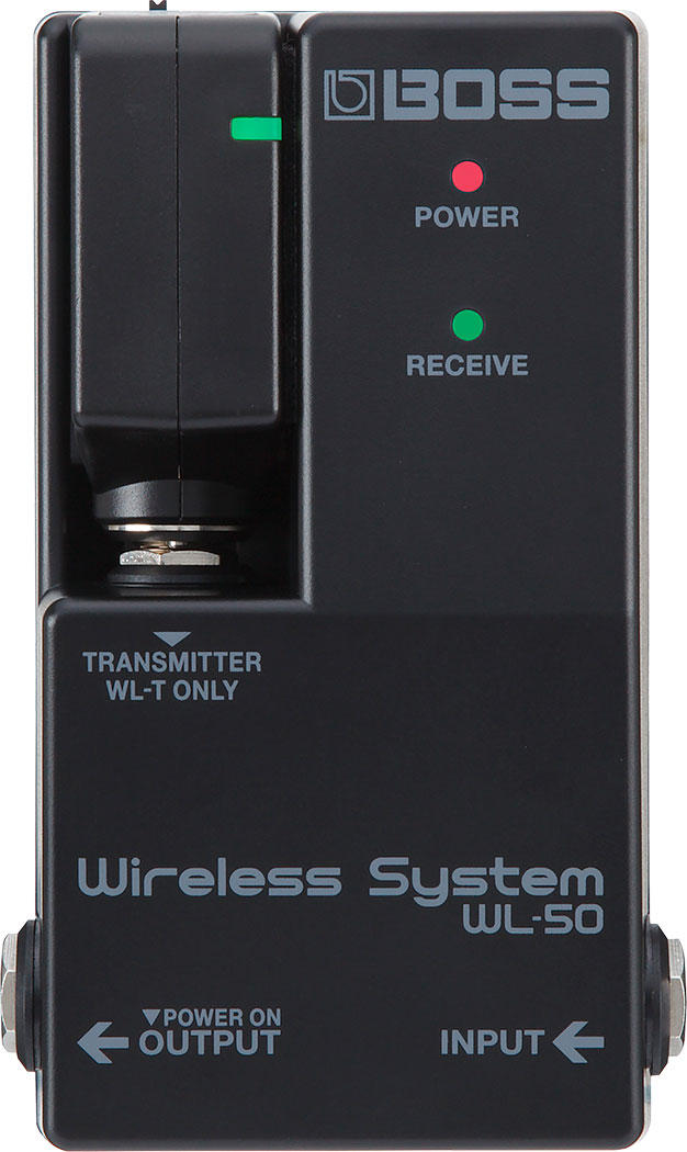 WL-50 Wireless Systemパネル画像