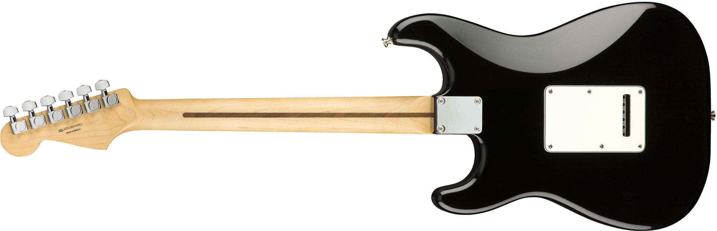 Player Stratocaster Black (Pau Ferro Fingerboard)背面画像