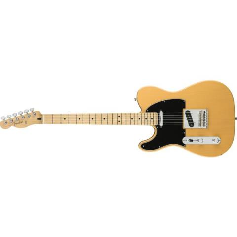 Fender-テレキャスターPlayer Telecaster Left-Handed Butterscotch Blonde (Maple Fingerboard)