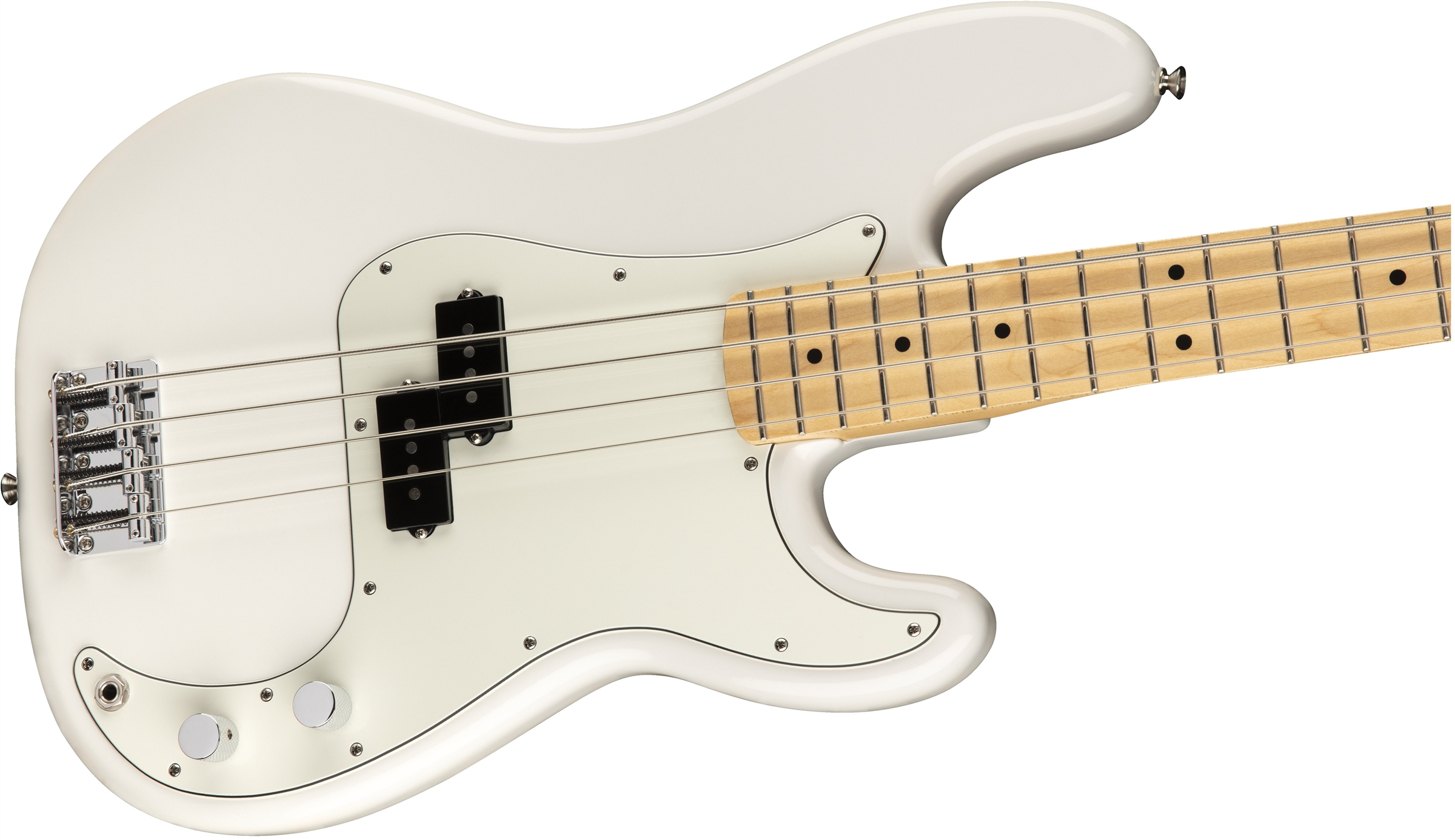 Player Precision Bass Polar White (Maple Fingerboard)追加画像