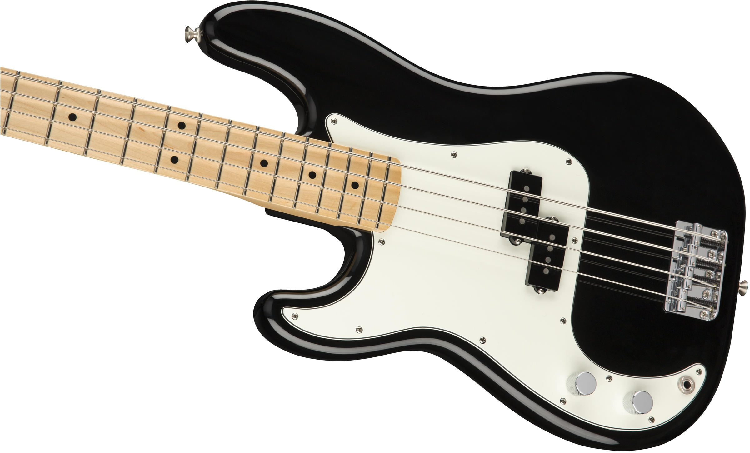 Player Precision Bass Left-Handed Black (Maple Fingerboard)追加画像