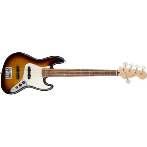 Fender-5弦ジャズベースPlayer Jazz Bass® V 3-Color Sunburst (Pau Ferro Fingerboard)