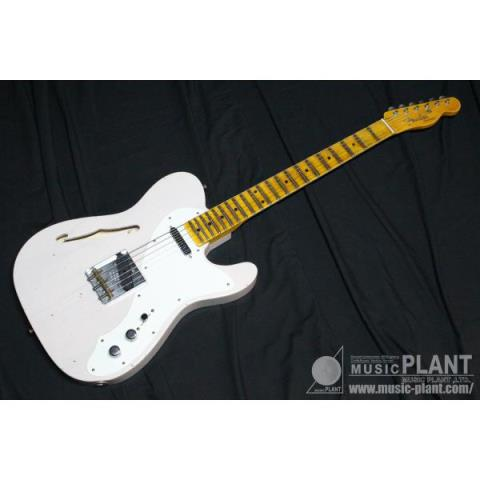 FenderCustom Shop 50s Thinline Tele Journeyman Relic Aged Dirty White Blonde