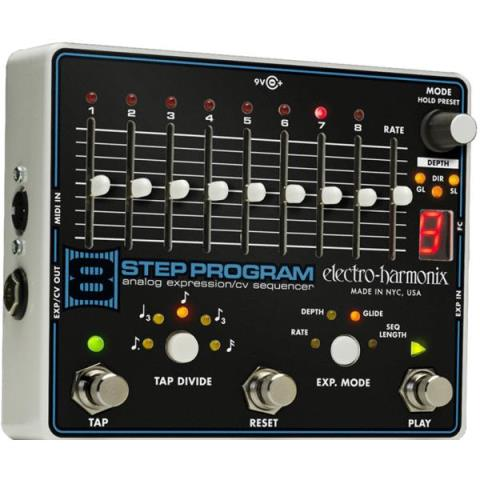 electro-harmonix-Analog Expression/CV Sequencer8 Step Program