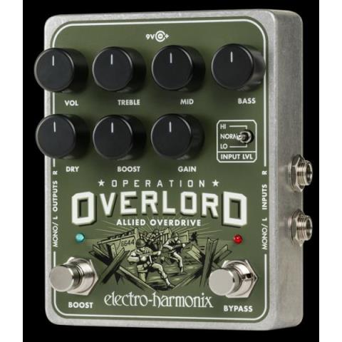 electro-harmonix-Allied OverdriveOperation Overlord