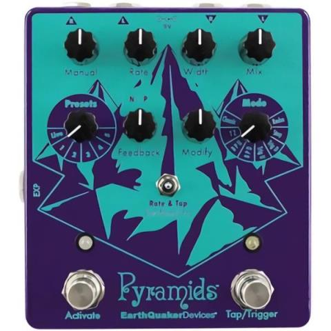Earth Quaker Devices-ステレオ フランジャーPyramids