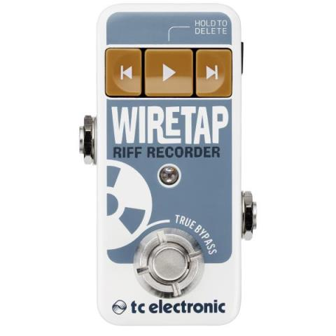 TC Electronic-レコーダーWIRETAP RIFF RECORDER